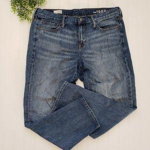 Gap Sexy Boyfriend High Rise Distressed Jeans 12